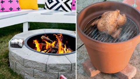 31 DIY Outdoor Fireplace and Firepit Ideas - photo#1