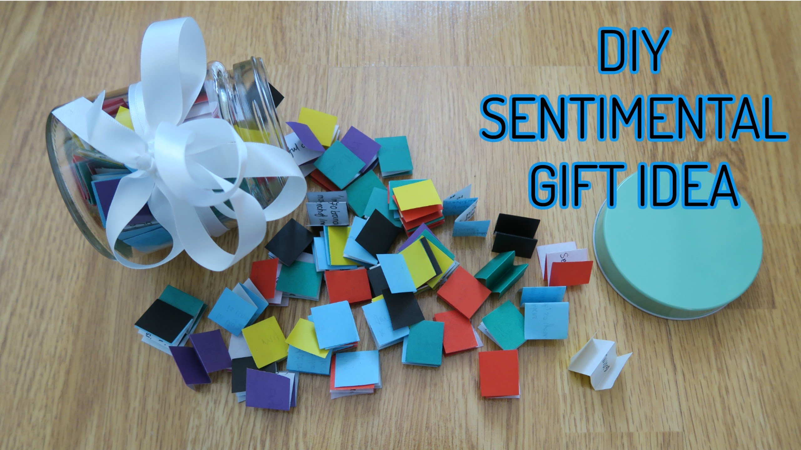 She makes a very sentimental gift for her friends and for Diy sentimental gifts