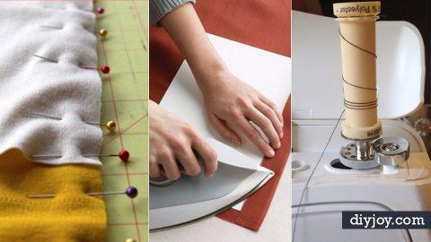 37 DIY Sewing Hacks | DIY Joy Projects and Crafts Ideas
