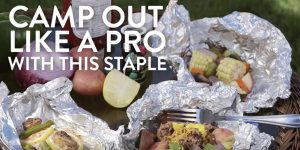 She Shows You Some Great Ideas For Food While Camping Out!