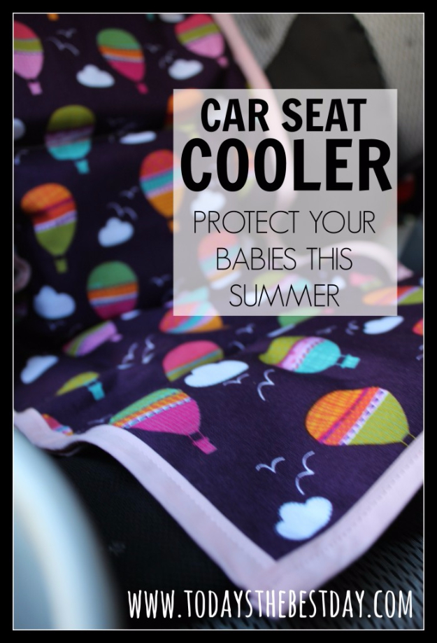 DIY Car Accessories and Ideas for Cars - Car Seat Cooler - Interior and Exterior, Seats, Mirror, Seat Covers, Storage, Carpet and Window Cleaners and Products - Decor, Keys and Iphone and Tablet Holders - DIY Projects and Crafts for Women and Men