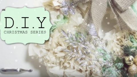 She Makes A Stunning Christmas Wreath Out of What? | DIY Joy Projects and Crafts Ideas