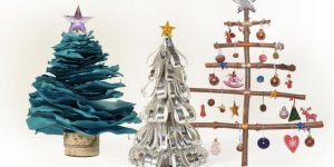 He Makes Three Incredibly Easy Christmas Trees That Are Super Cute!