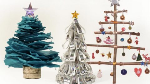 He Makes Three Incredibly Easy Christmas Trees That Are Super Cute! | DIY Joy Projects and Crafts Ideas