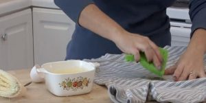 She Shows Us An Unusual Way To Remove Coffee Stains From Clothes!