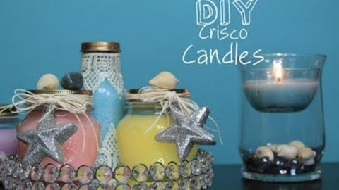 She Makes Candles That Burn Much Longer Than Candle Wax! | DIY Joy Projects and Crafts Ideas