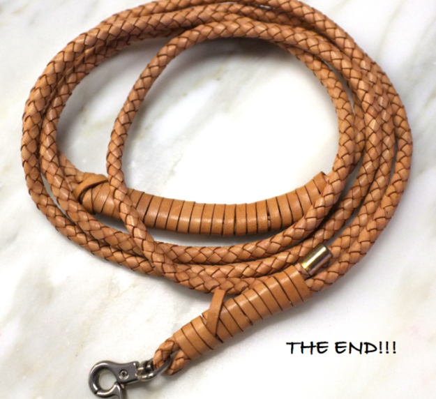 Creative Leather Crafts - DIY Braided Leather Dog Leash - Best DIY Projects Made With Leather - Easy Handmade Do It Yourself Gifts and Fashion - Cool Crafts and DYI Leather Projects With Step by Step Tutorials http://diyjoy.com/diy-leather-crafts