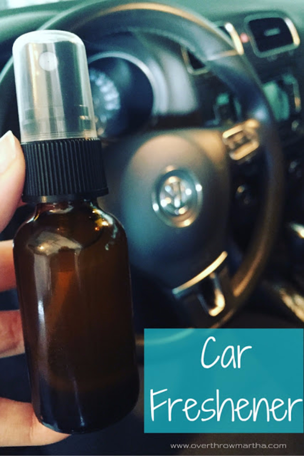 DIY Car Accessories and Ideas for Cars - DIY Car Air Freshener - Interior and Exterior, Seats, Mirror, Seat Covers, Storage, Carpet and Window Cleaners and Products - Decor, Keys and Iphone and Tablet Holders - DIY Projects and Crafts for Women and Men http://diyjoy.com/diy-ideas-car
