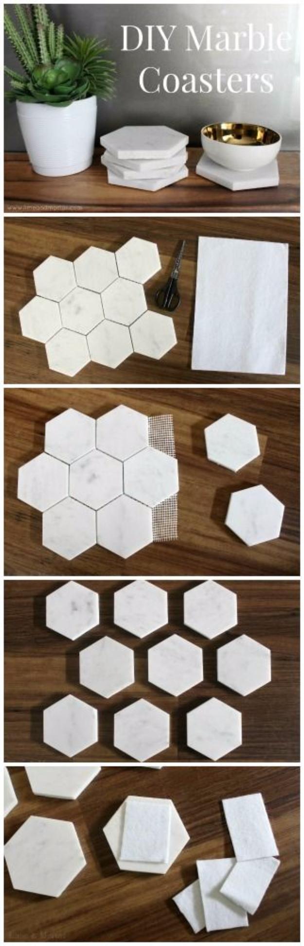 33 Diy Ideas For Handmade Coasters