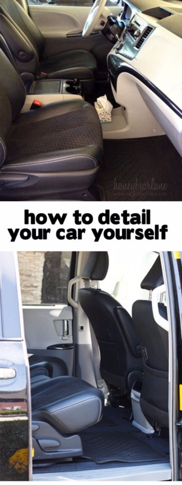 DIY Car Accessories and Ideas for Cars - Detail Your Car Yourself - Interior and Exterior, Seats, Mirror, Seat Covers, Storage, Carpet and Window Cleaners and Products - Decor, Keys and Iphone and Tablet Holders - DIY Projects and Crafts for Women and Men