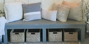 They Make This Amazing Farmhouse Bench That Adds So Much Charm To A Home!