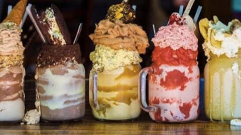 "She Makes What She Calls ""Freak Shakes"" And They Are Beyond Decadent (Yum!) 