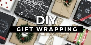 If You're Running Out Of Wrapping Paper She Shows You Some Amazing Ideas For Making Your Own!