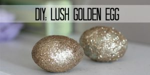 Make Lush Inspired Golden Egg Bath Bombs For A Sparkly Treat to Add to You Bath