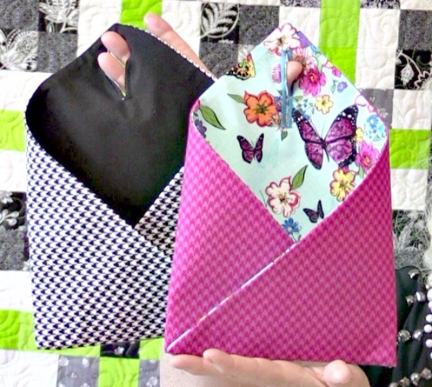 Best Sewing Projects to Make For Girls - Hanging Door Pockets - Creative Sewing Tutorials for Baby Kids and Teens - Free Patterns and Step by Step Tutorials for Dresses, Blouses, Shirts, Pants, Hats and Bags #sewing #sewingideas