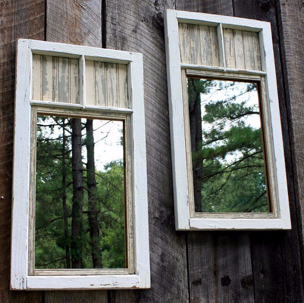 Best DIY Hacks for The New Year - Install Exterior Mirrors To Create The Illusion Of Space In Your Garden - Easy Organizing and Home Improvement Ideas - Tips and Tricks for Quick DIY Ideas to Simplify Life - Step by Step Hack Tutorials for Genuis Ways to Make Quick Things Easier http://diyjoy.com/best-diy-hacks