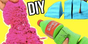Kinetic Sand Is The Rage And Expensive Too — Save Money With This DIY Kinetic Sand At Home!