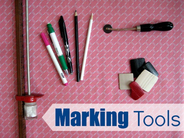 sewing hacks - Know Your Marking Tools - Best Tips and Tricks for Sewing Patterns, Projects, Machines, Hand Sewn Items #sewing #hacks