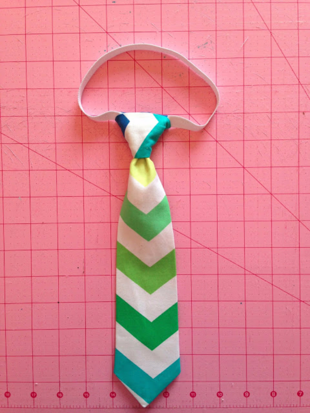 Best Sewing Projects to Make For Boys - Little Guy Tie - Creative Sewing Tutorials for Baby Kids and Teens - Free Patterns and Step by Step Tutorials for Jackets, Jeans, Shirts, Pants, Hats, Backpacks and Bags - Easy DIY Projects and Quick Crafts Ideas #sewing #kids #boys #sewingprojects