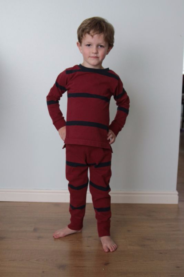 Best Sewing Projects to Make For Boys - Little Man's Pajamas - Creative Sewing Tutorials for Baby Kids and Teens - Free Patterns and Step by Step Tutorials for Jackets, Jeans, Shirts, Pants, Hats, Backpacks and Bags - Easy DIY Projects and Quick Crafts Ideas #sewing #kids #boys #sewingprojects