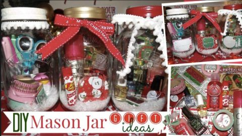 Check Out These Fabulous Mason Jar Gift Ideas She Makes! | DIY Joy Projects and Crafts Ideas