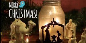She Makes A Beautiful Nativity Candle…The Reason For The Season!