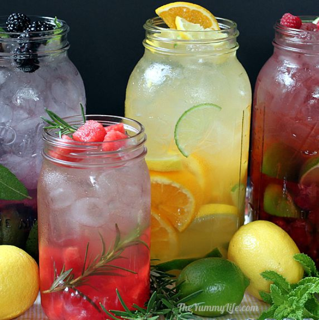 Best DIY Detox Waters and Recipes - Naturally Flavored Detox Water - Homemade Detox Water Instructions and Tutorials - Lose Weight and Remove Toxins From the Body for Your New Years Resolutions - Easy and Quick Recipe Ideas for Getting Healthy in 2017 - DIY Projects and Crafts by DIY Joy