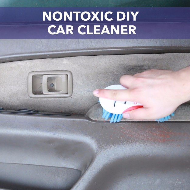 DIY Car Accessories and Ideas for Cars - Non Toxic DIY Car Cleaner - Interior and Exterior, Seats, Mirror, Seat Covers, Storage, Carpet and Window Cleaners and Products - Decor, Keys and Iphone and Tablet Holders - DIY Projects and Crafts for Women and Men http://diyjoy.com/diy-ideas-car
