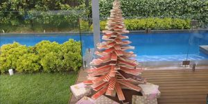 How To Make A Scandinavian Inspired Wooden Christmas Tree!