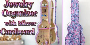 She Makes The Most Unique Jewelry Cabinet Ever By Using A Replica Of A Guitar Case!