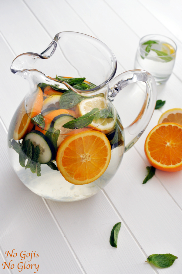Best DIY Detox Waters and Recipes - Refreshing Detox Water - Homemade Detox Water Instructions and Tutorials - Lose Weight and Remove Toxins From the Body for Your New Years Resolutions - Easy and Quick Recipe Ideas for Getting Healthy in 2017 - DIY Projects and Crafts by DIY Joy