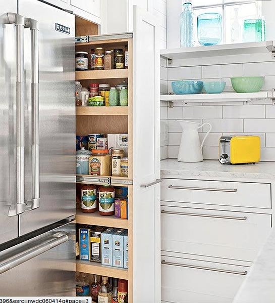 Watch How This Brilliant Slide Out Pantry Is Made And Have
