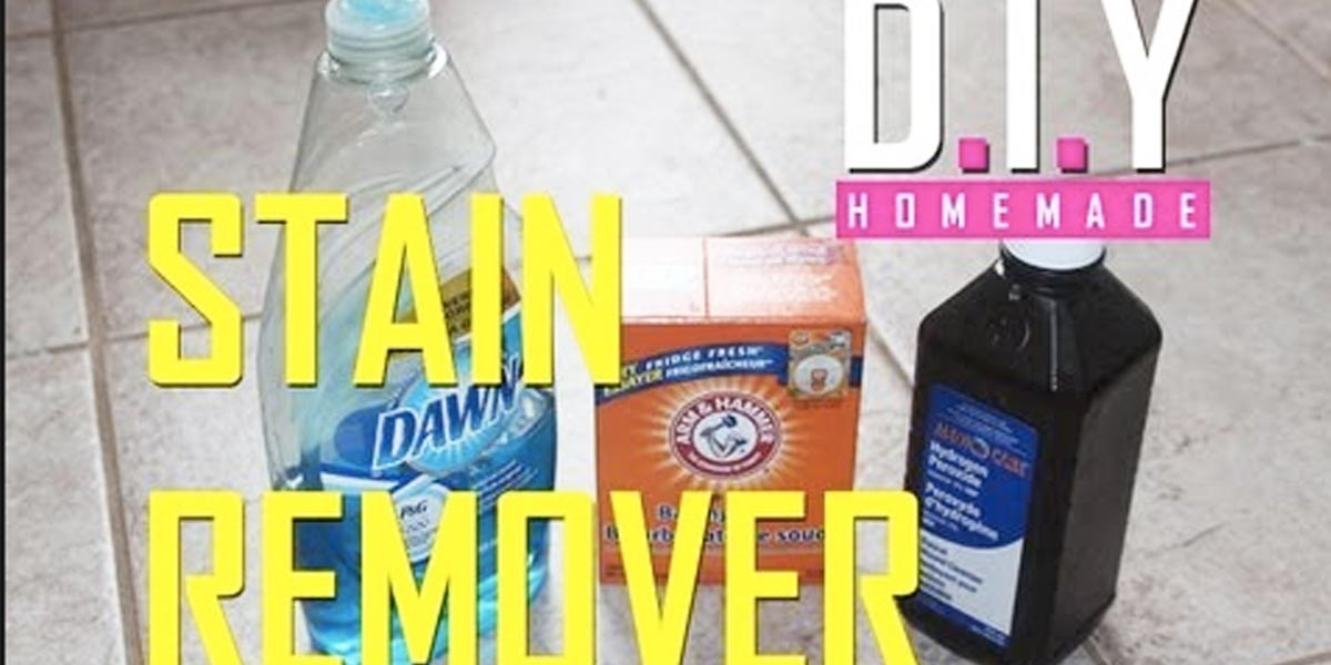 She Saves Money On Stain Removers And Makes The Best