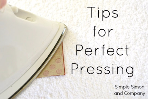 sewing hacks - Tips For Perfect Pressing - Best Tips and Tricks for Sewing Patterns, Projects, Machines, Hand Sewn Items #sewing #hacks