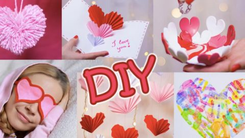 She Makes 5 Really Cool DIY Valentine's Day Gifts (Watch!) | DIY Joy Projects and Crafts Ideas