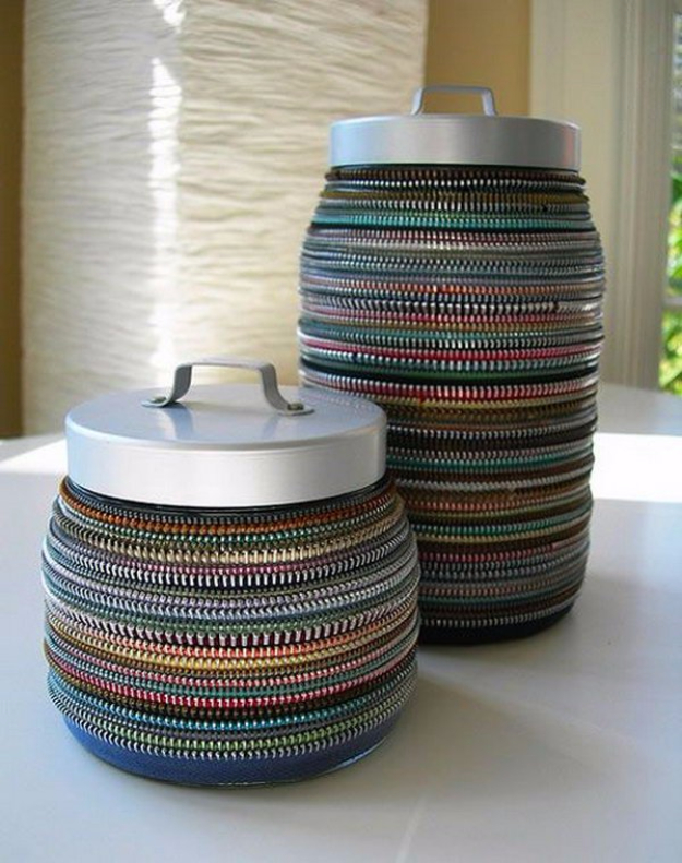 Creative DIY Projects With Zippers - Vintage Zipper Decor - Easy Crafts and Fashion Ideas With A Zipper - Jewelry, Home Decor, School Supplies and DIY Gift Ideas - Quick DIYs for Fun Weekend Projects