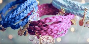 These Are Super Cool Wrapped Braided Charm Bracelets She Makes (Watch!)