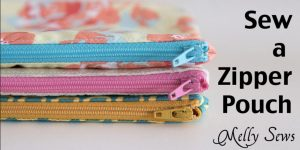 She Makes This Fabulous Zipper Pouches in 15 Minutes (Watch!)
