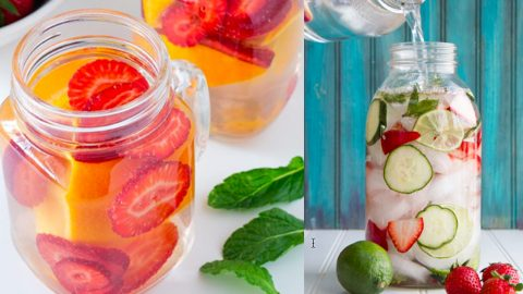 32 Homemade Detox Water Recipes | DIY Joy Projects and Crafts Ideas