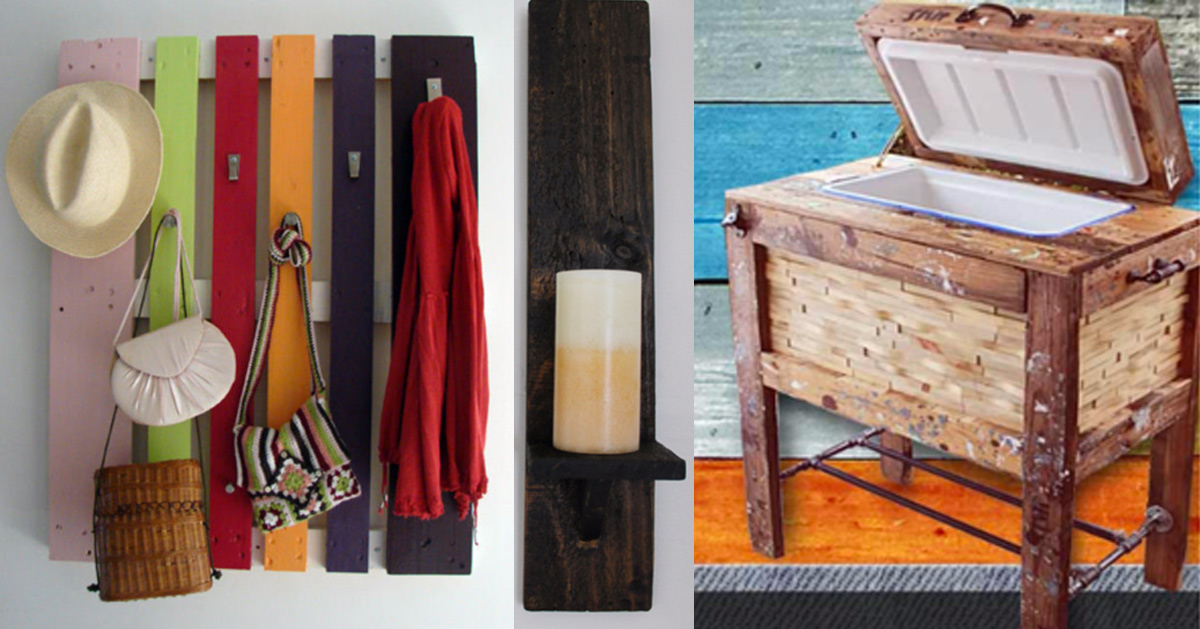 31 more cool diy pallet furniture ideas for Cool homemade furniture