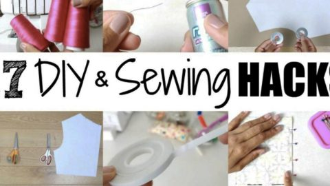 17 Amazing Time Saving Sewing Hacks That You May Have Never Thought Of! | DIY Joy Projects and Crafts Ideas