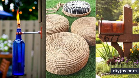 30 Creative DIY Ideas for The Outdoors | DIY Joy Projects and Crafts Ideas