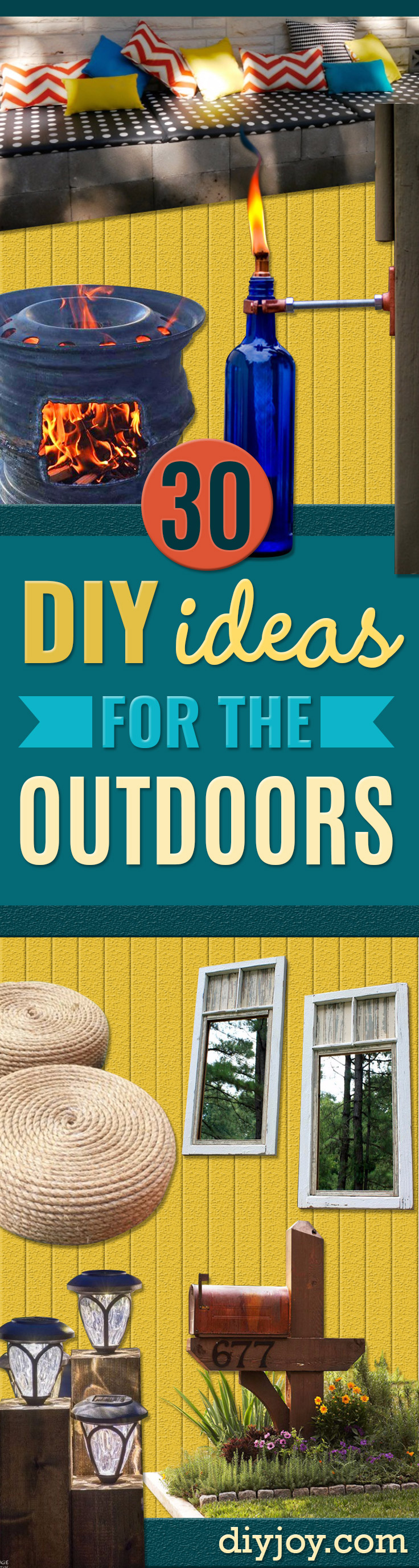 30 Creative DIY Ideas for The Outdoors