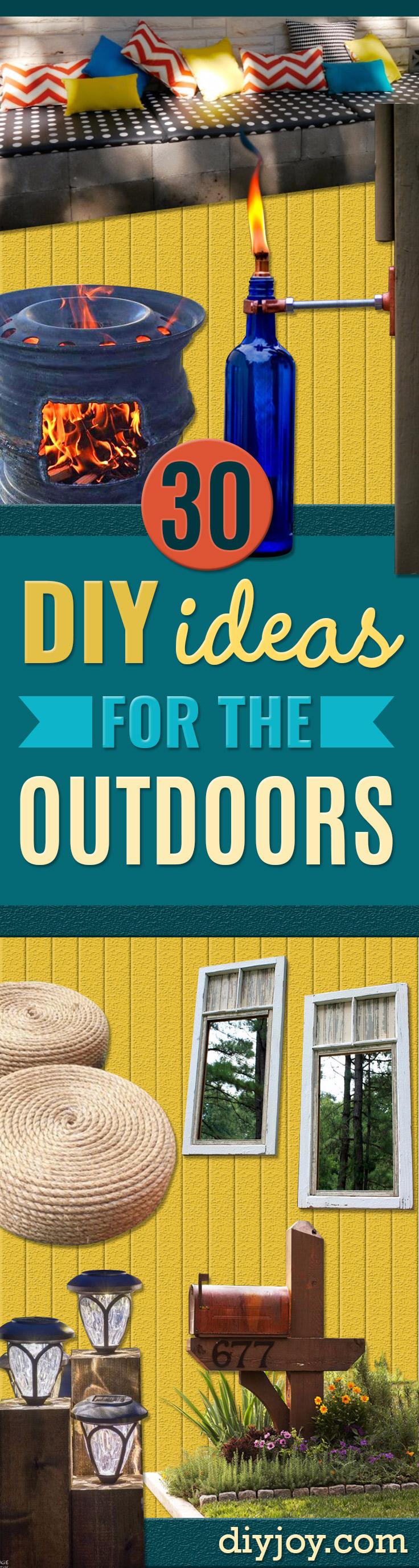 30 Creative DIY Ideas for The Outdoors