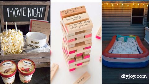 31 Brilliant Date Night Ideas You Can Act Like You Thought Of Yourself (We Won't Tell) | DIY Joy Projects and Crafts Ideas