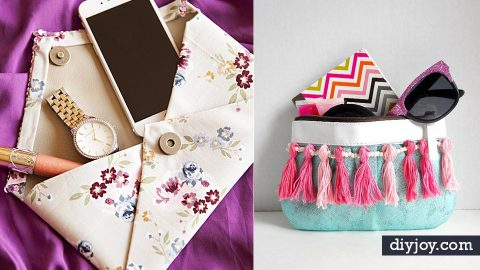 32 DIY Purses You Will Wish You Were Carrying Right Now | DIY Joy Projects and Crafts Ideas