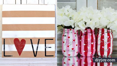 32 Easy Valentine Decor Ideas | DIY Joy Projects and Crafts Ideas