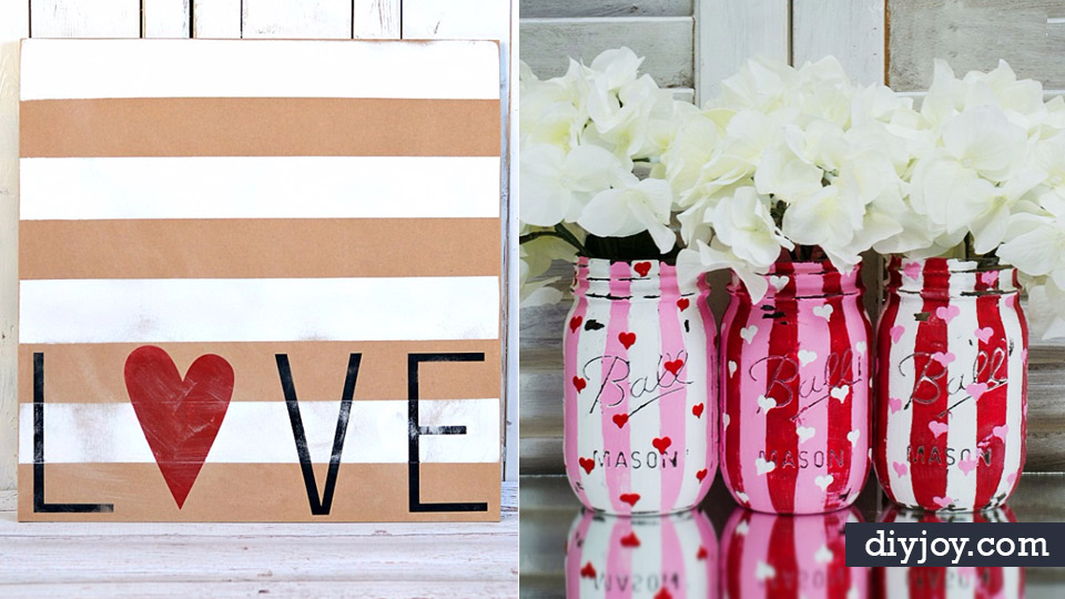 Diy Valentine Decor Ideas Cute And Easy Home Decor Projects For
