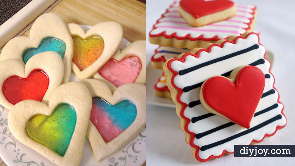 DIY Valentines Day Cookies