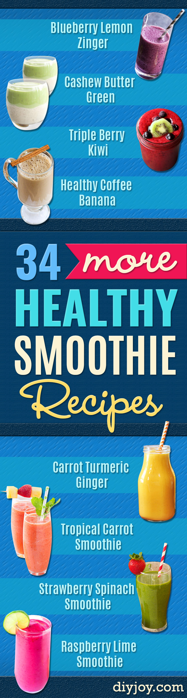 Healthy Smoothie Recipes - Easy smoothie recipe ideas for breakfast, energy. Low calorie and high protein recipes for weightloss and to lose weight. Simple homemade recipe ideas that kids love. Quick EASY SMOOTHIE RECIES before work and school, after workout #recipes #healthy #healthyrecipes
